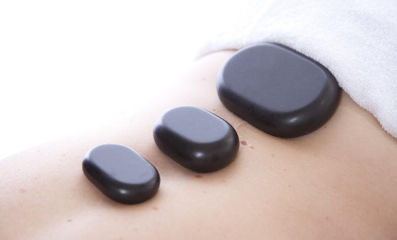 Hot stone massage, willow wellbeing, torquay, devon